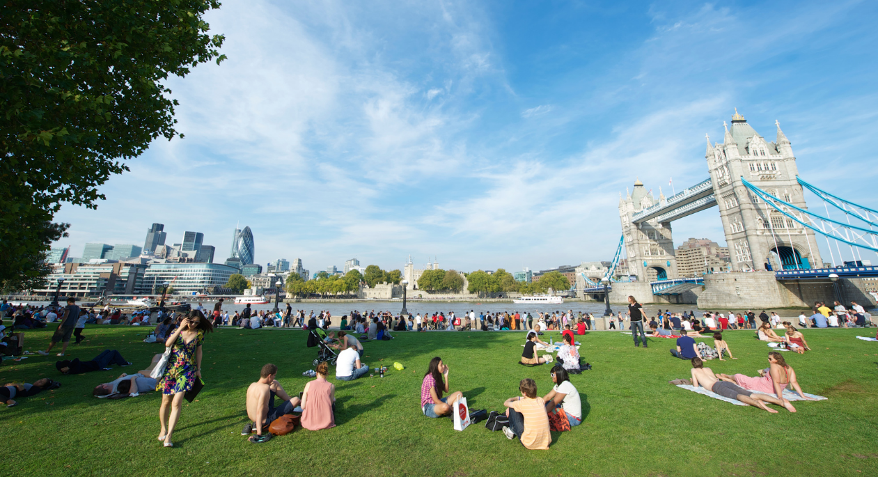 Outdoor places to visit in London