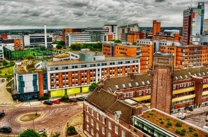 Aston University building