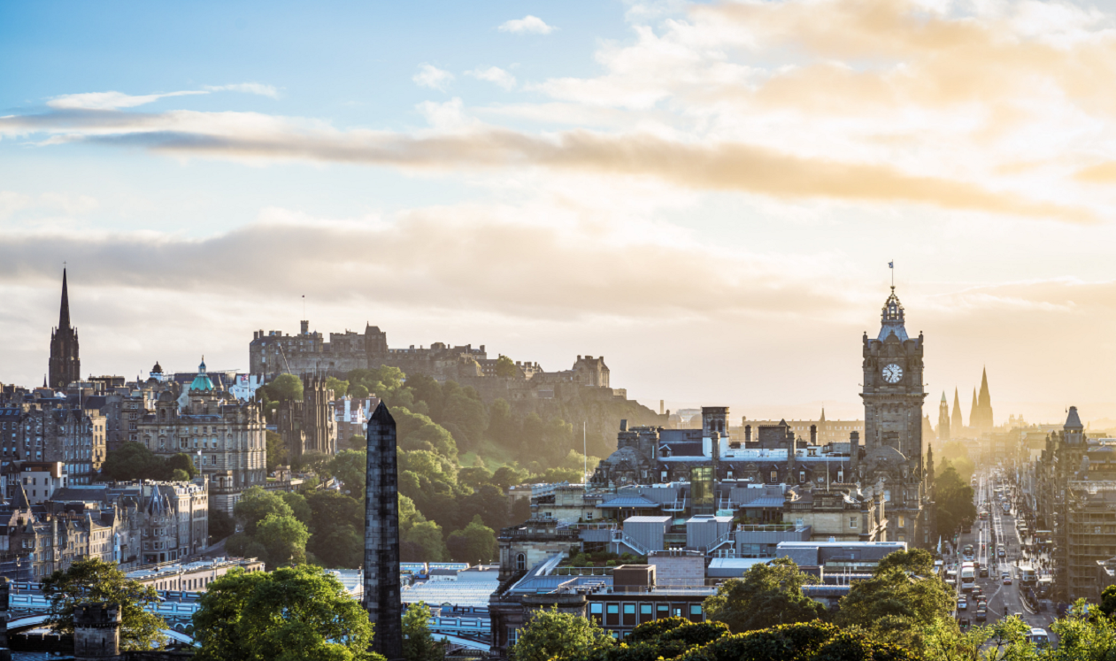 Outdoor things to do in Edinburgh